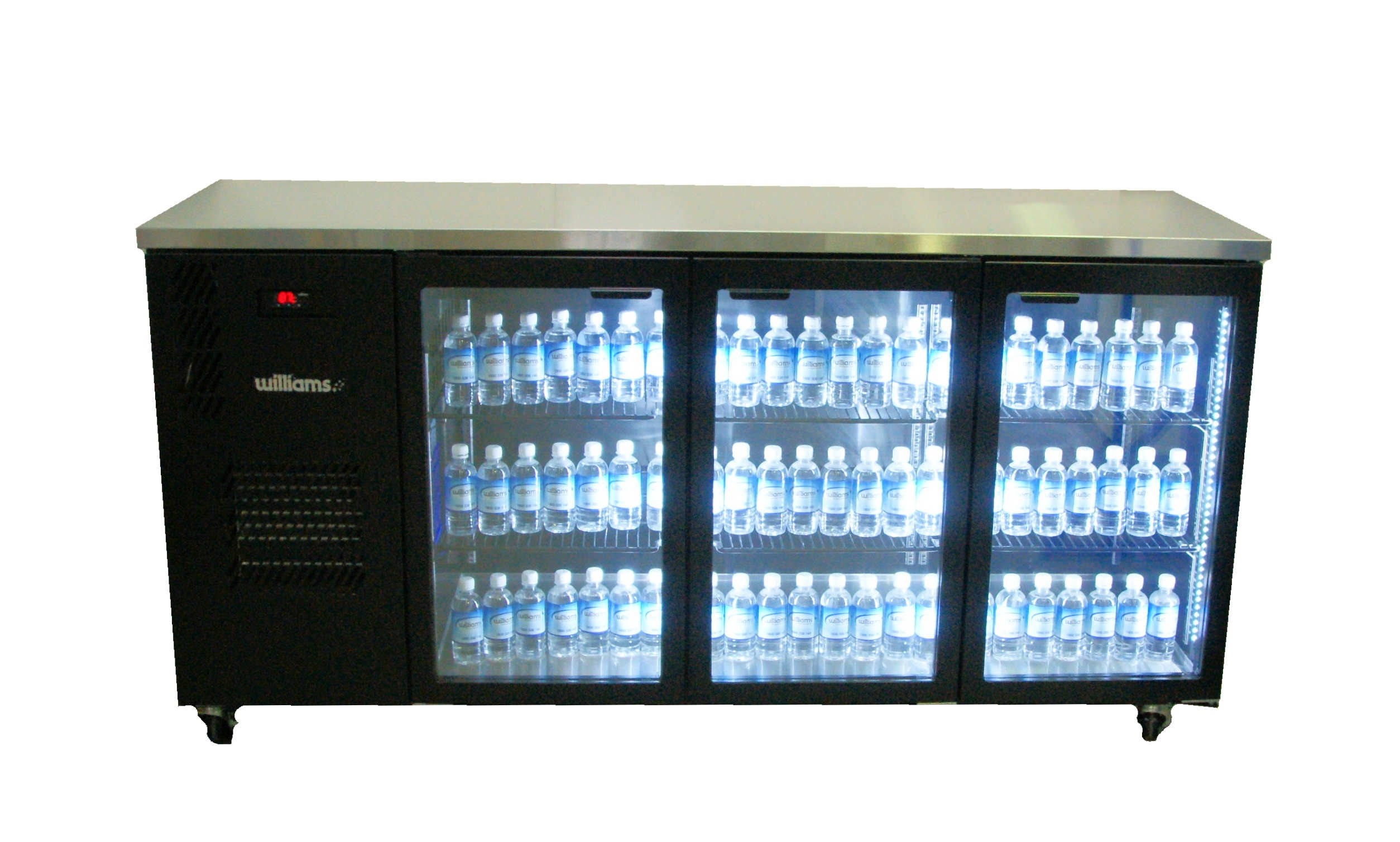 Williams Cameo Star Hc3ugb 3 Glass Door Back Bar Fridge Hkn